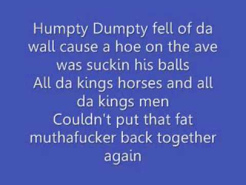 dirty nursery rhymes lyrics by 2 live crew