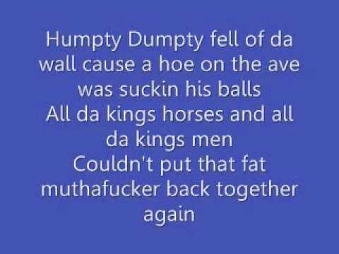 dirty nursery rhymes lyrics by 2 live crew