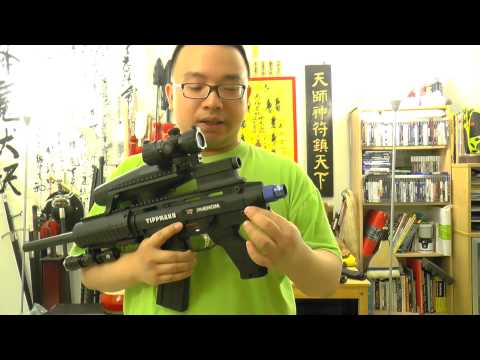 Tippmann X7 Phenom RAP4 Flexi Air. Tank in Stock Review