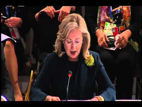 U.S. Secretary of State Hillary Clinton Remarks at APEC Women and the Economy Summit