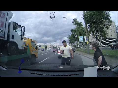 Ребёнок за рулём и погоня.