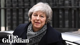 Theresa May gives statement as parliament resumes Brexit deal debate - watch live