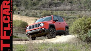 2015 Jeep Renegade Trailhawk: Muddy Off-Road Review