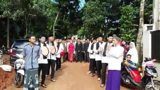 ngarak nganten ema gaul hadroh tolla al badru alaina wedding yuni &  yudi bojong sari