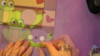 Frog Sweet Treats Valentines Card