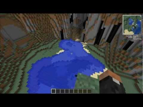 Minecraft 1.4.2 || Seed Spotlight - Survival Island & Stronghold