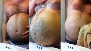Beer Belly Gay Old Shower