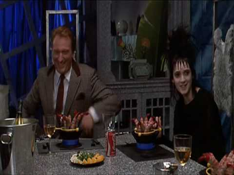 """Great scene of the movie Beetlejuice ! Harry Belafontes """"Day-O / The Banana Boat Song""""."""