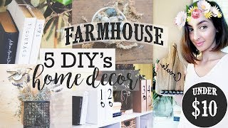 (31.0 MB) 5 DIY's | Farmhouse Home Decor | Tutorial | The Restyler Mp3