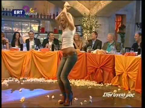 Greek music - tsifteteli - Sexy Greek woman - Slow Cifteteli! (2)