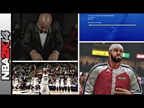 NBA 2K14 My Career Mode PS4 Ep 5 - The Death & Reincarnation of IpodKingCarter & (CE-34878-0) Error