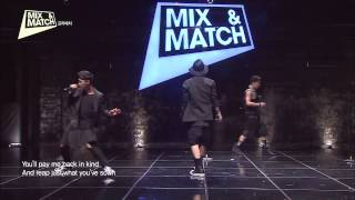iKon Bobby, Donghyuk & Jinhyung - Rolling In The Deep (Adele) @ Mix and Match Ep 3
