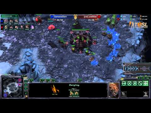 TESL  Slam (Z) vs Ian (Z) - StarCraft 2 - Season Two Round Robin - G1