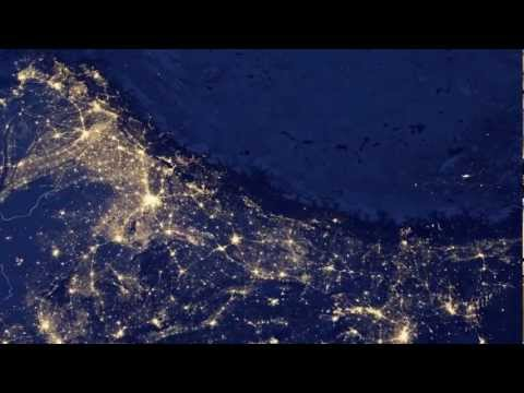 Watch the Planet Earth at Night - New NASA Footage from Space - [HD]