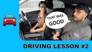 Driving On Busy Main Roads For The First Time - Driving Lesson #2