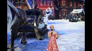 """Josh Gad, Kristen Bell appear for """"Olaf"""