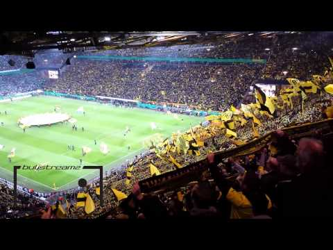 you'll Never Walk Alone - Borussia Dortmund Vs. Vfl Wolfsburg [hd] video