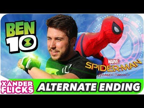 Ben 10 vs Spider-Man - ALTERNATE ENDING - XanderFlicks