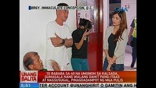 UB: Mga umiinom sa kalsada, gumagala nang walang damit pang-itaas at nagsusugal, pinagdadampot