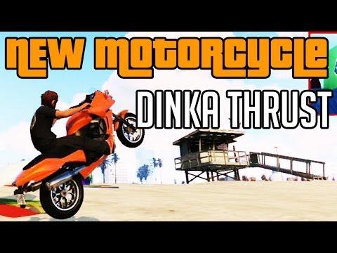 GTA 5 High Life DLC New Motorcycle Dinka Thrust  $75,000
