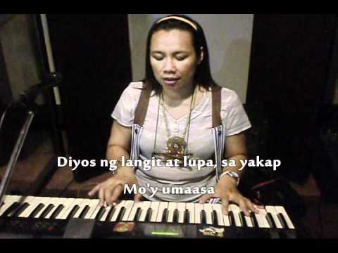 Heart of a Servant (Tagalog) w/ Lyrics By Vangie Nievas.wmv