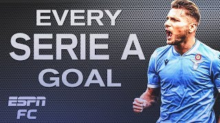 Cristiano Ronaldo's penalty and Ciro Immobile's double | Every Serie A Goal Week 14