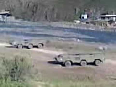 rus SS 21 missile shooting in Georgian war