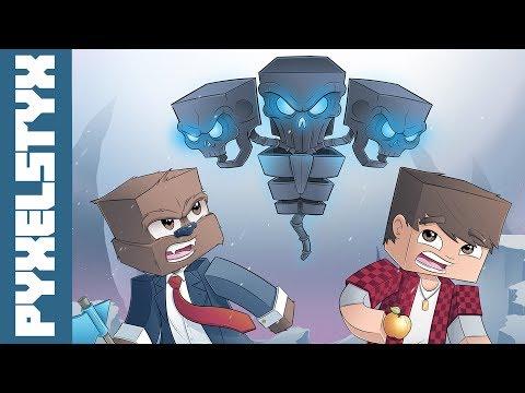 Minecraft SpeedART BajanCanadian and JeromeASF The Wither