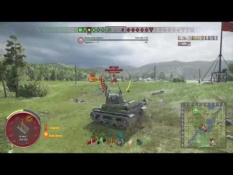World of Tanks Xbox one Blitzen MTLS 9 Kills in 3 mins