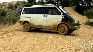 Offroadpark Langenaltheim - VW T4 Syncro - Defender - Discorey - Jeep