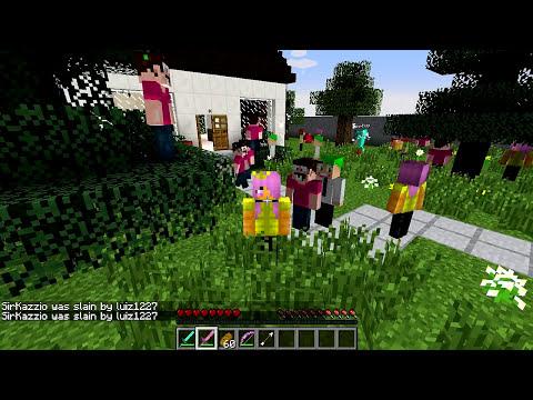 Minecraft Mods - MORPH HIDE AND SEEK - PADRINHOS MÁGICOS MOD (The Fairly OddParents)