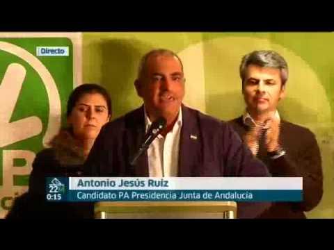 Acto inicio de campaña electoral del Partido Andalucista