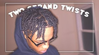 HOW TO TWIST YOUR NATURAL HAIR | TUTORIAL