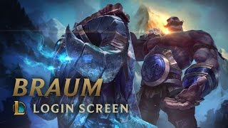 Braum, the Heart of the Freljord | Login Screen - League of Legends