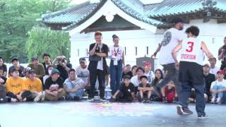 GUCCHON&TAISUKE vs Nelson&GREENTECK Semi Final_01 | Deadly Duo | Red Bull BC One Camp Japan 2017