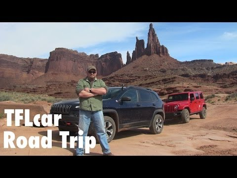 2014 Jeep Cherokee Trailhawk versus Moab's White Rim Trail