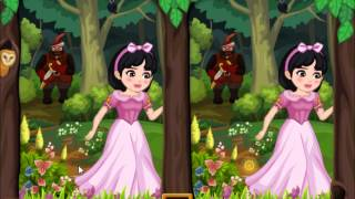 Find the differences: Snowwhite - Girls Games - Mary