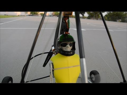 RC Microlight - Obstacle Flying!