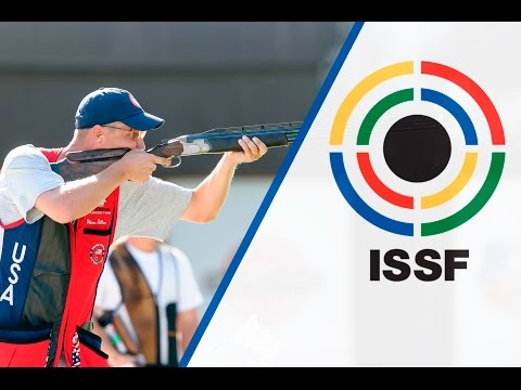 Finals Double Trap Men - 2015 ISSF Rifle, Pistol, Shotgun World Cup in Gabala (AZE)