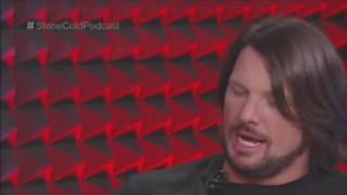 Aj Styles Stone Cold Podcast Full