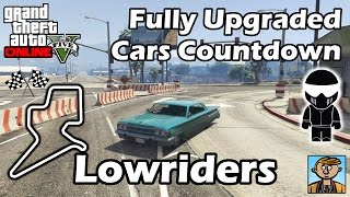 Fastest Lowriders DLC Vehicles - Best Fully Upgraded Cars In GTA Online