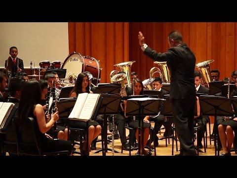 La Banda Simfónica de Villamaría de Caldas (Colombia) vistita el Conservatori del Liceu