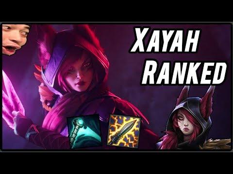 RZUCAM PIÓRAMI - Xayah Ranked - League of Legends PL