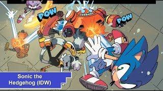 Sonic the Hedgehog (IDW) #1-4 [Mini-Reseña]