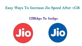 HOW TO INCREASE JIO SPEED AFTER 1GB DATA? || FREE MBPS UNLIMITED DATA ||