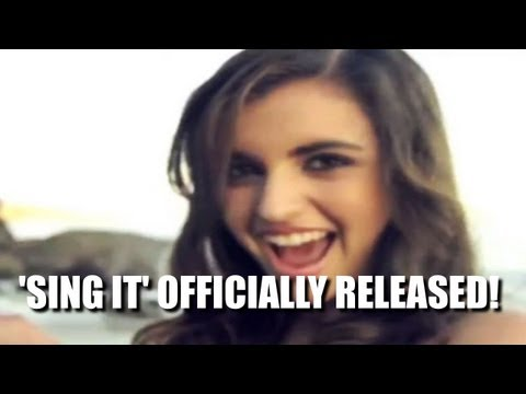 Rebecca Black's New Song/Music Video 'Sing It' Released!