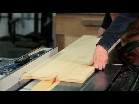 How to Use a Table Saw   Woodworking
