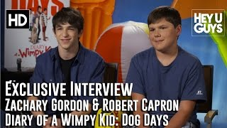 Diary of a Wimpy Kid: Dog Days - Zachary Gordon & Robert Capron Interview - Diary of a Wimpy Kid: Dog Days