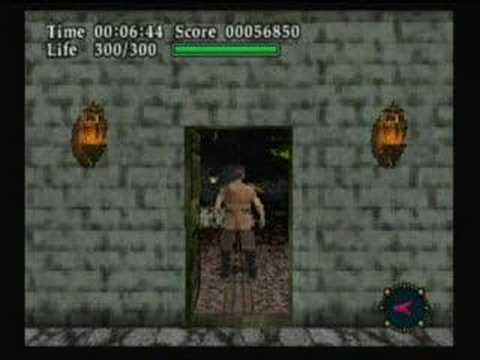 Gameplay Virtual Hydlide JPN