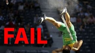 Pole vault fail compilation